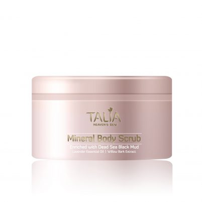 Mineral Soft Scrub – Enriched with Dead Sea Black Mud